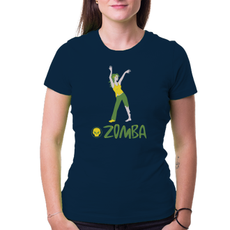 Tričko Zomba aneb cvičení pro mrtvé