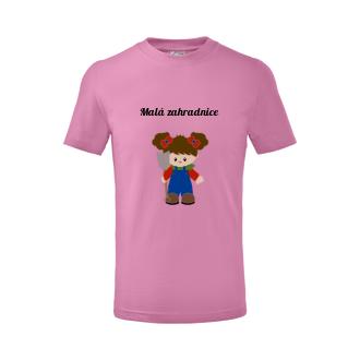 Dětské tričko Malá zahradnice
