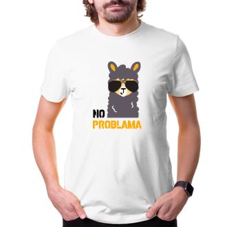 Vtipná trička Tričko No probalama