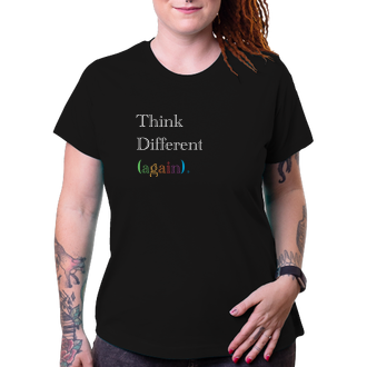 Geek Tričko Think Different Again.
