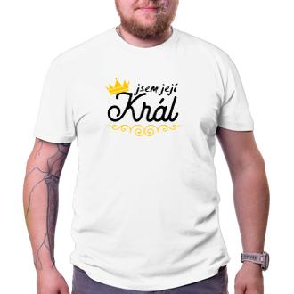 Pánské triko Její Král