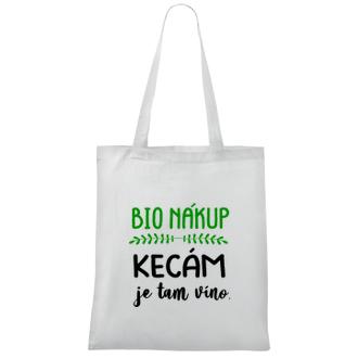 Bavlněná taška Bio nákup