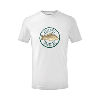Rybáři Dětské triko Potatil jsem se