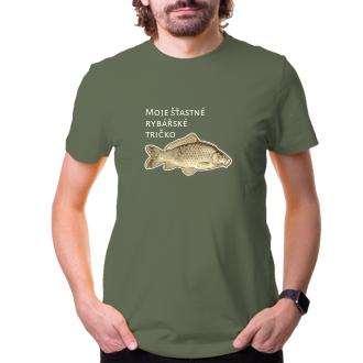 Rybáři Tričko s kaprem