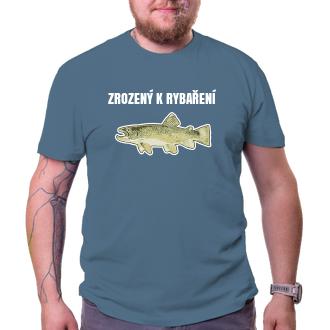 Rybáři Triko Zrozený k rybaření