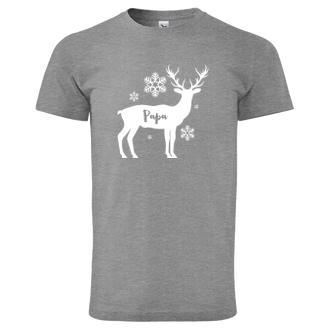 Pánské triko Deer Papa