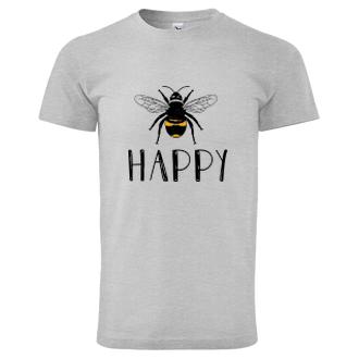 Motivační Tričko Bee Happy