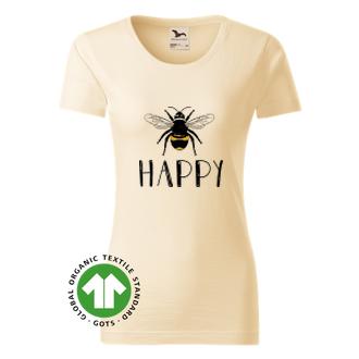 Dámské tričko Bee Happy