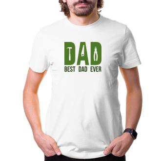 Pro tatínky Triko Best dad ever