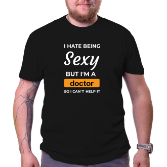 Lékaři a záchranáři Tričko Sexy doktor