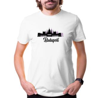 Cestování Cestovatelské tričko Budapešť