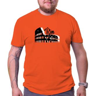 Cestování Cestovatelské tričko Řím