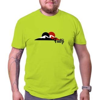 Cestování Cestovatelské tričko Fudži