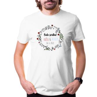 Svatební Svatební tričko Bude svatba!