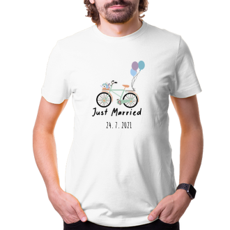 Svatební Tričko Svatební kolo