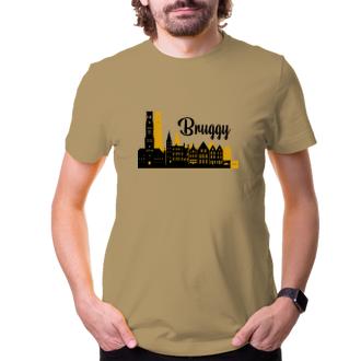 Cestování Cestovatelské tričko Bruggy