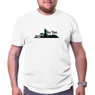 Cestování Cestovatelské tričko New York