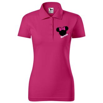 Pro páry Párové tričko pro ni Mouse