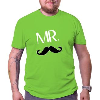 Pro páry Párové tričko Mr.