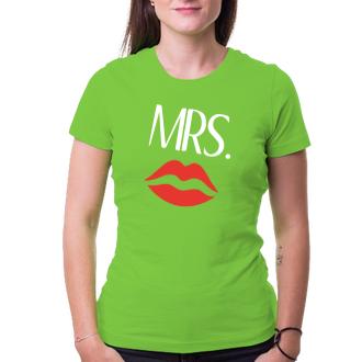 Pro páry Párové tričko Mrs.