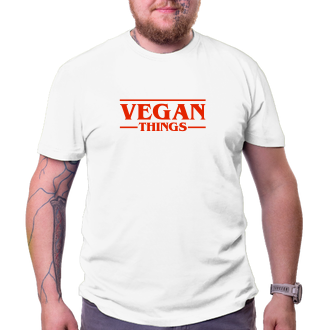 Tričko Vegan things