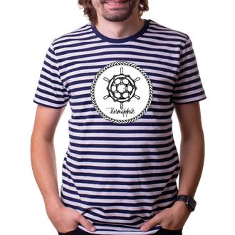 Pruhované tričko Kormidelník