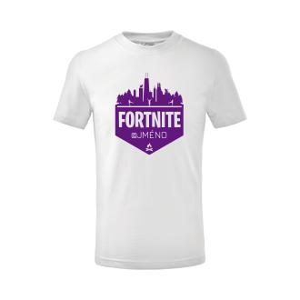 Gaming Dětské tričko Fortnite
