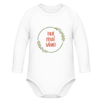 Dětské body Moje první Vánoce