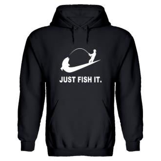 Rybáři Rybářská mikina Just Fish it.