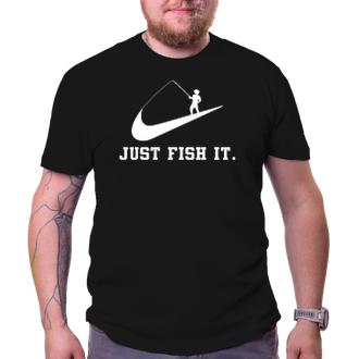 Rybáři Rybářské triko Just fish it