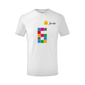 Narozeninové tričko Lego