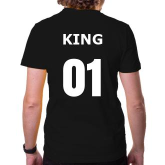 Pro páry Tričko King and Queen pro něho