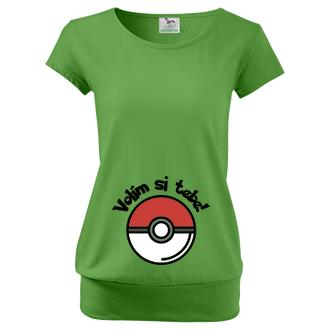 Těhotenské tričko Pokémon
