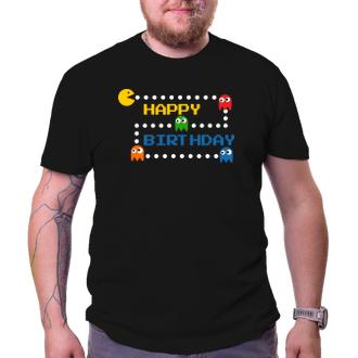 Narozeninové tričko Pac-man