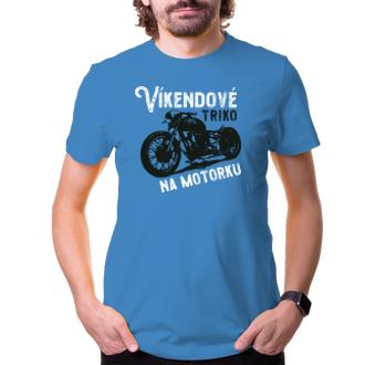 Auta a motorky Víkendové tričko na motorku