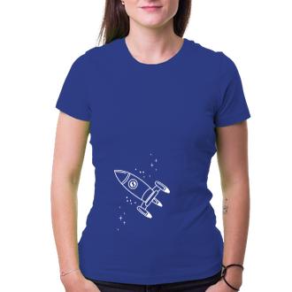 Pro páry Párové triko Vesmírná loď