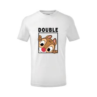 Pro sourozence Dětské tričko Double