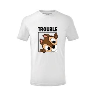Pro sourozence Dětské tričko Trouble