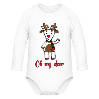 Vánoční body pro miminko Deer