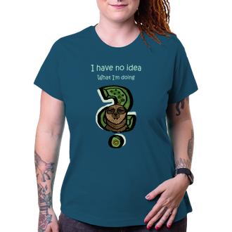 Vtipná trička Dámské tričko s lenochodem