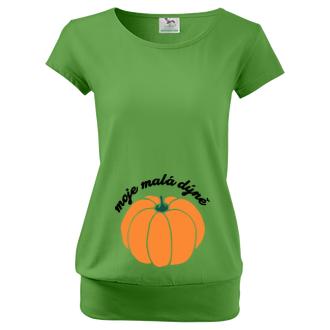 Těhotenské tričko Halloween