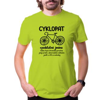 Vtipné tričko pro cyklisty
