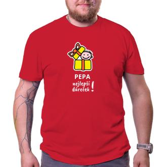 Rodinné tričko Tatínek dáreček