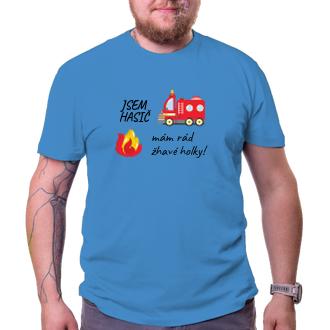 Vtipné tričko Jsem hasič