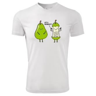 Vtipné tričko Fitness