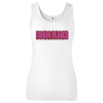 Friday player - červenorůžová