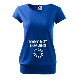 Pro těhotné Tričko Baby boy loading