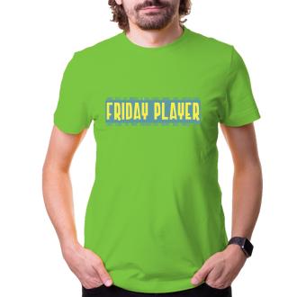 Friday player - zelenožlutá