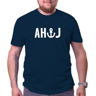 Vodáci Pánské tričko Ahoj - kotva