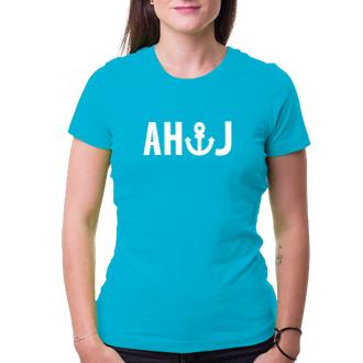 Vodáci Dámské tričko Ahoj - kotva